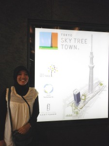 Tokyo Skytree Map