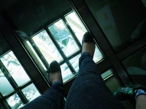 Me at Glas Floor (340 m)