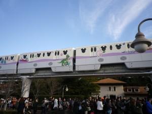 Tokyo Disney Resort Train