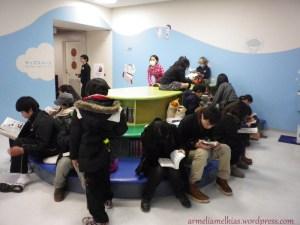 Comic Library inside of Fujiko Fujio Museum
