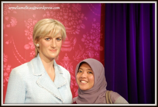 Me with Lady Diana