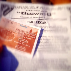 Tiket Tari Kecak